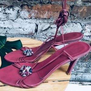 ZARA Wrap Around Heels